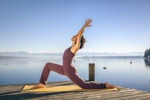 Yoga in den Sommerferien am Bodensee