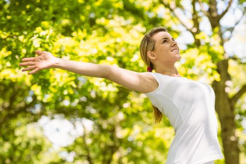 Yoga am Morgen bei Yoga Samiti