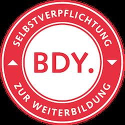 BDY Siegel Selbstverpflichtung