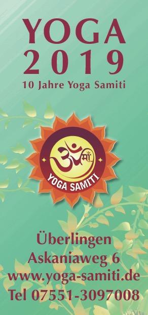 YOGA-2019 Yoga Samiti Kursplan