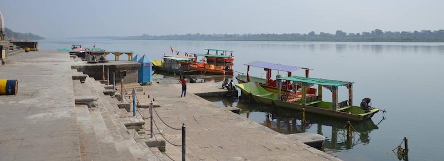 Maheshwar an der Narmada