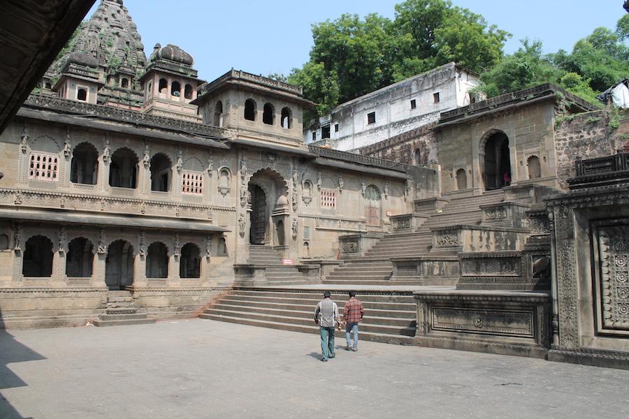 Palast in Maheshwar